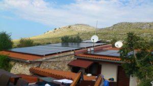 Otočna solarna elektrana 8 KW, Kornati Vrulja
