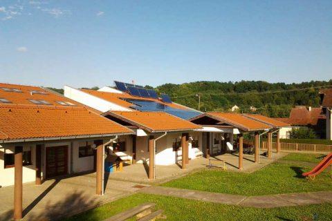 Solarna elektrana dječji vrtić Palčić, Orahovica