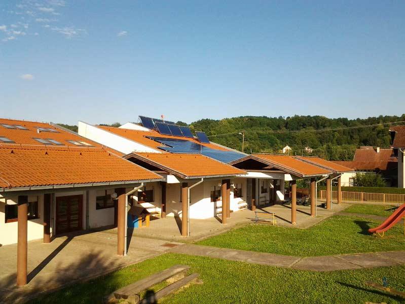 Solarna elektrana dječji vrtić Orahovica