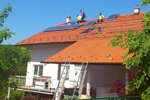 Prva solarna elektrana u Remetama, Zelene Remete