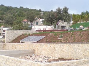 Otočna solarna elektrana Murter snage 1kW