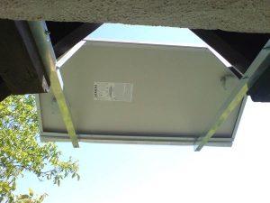 Otočna solarna elektrana Vugrovec snage 220W