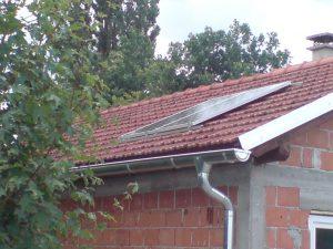 Otočna solarna elektrana Adamovec snage 0,50 kW